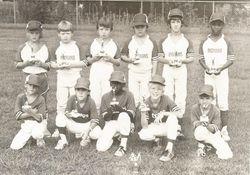 Ninety Six Indians Little League team