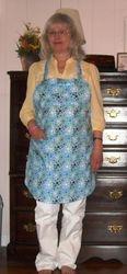 Blue retro apron SOLD!