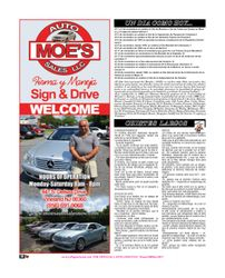 Moe Auto Sales, Vineland New Jersey Promotions