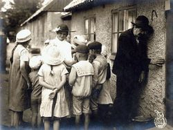 Under kaerlighedens aag (Angest som dodar) 1916