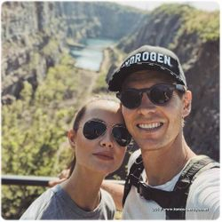 Tomas Berdych and wife Ester