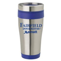 14 oz. Stainless Steel Tumbler - Insulated - No-Spill Lid - Keeps drinks hot or cold for hours - BPA Free