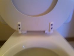 toilet- after