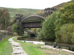 Posh railway bridge!