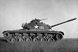 M48A1 Patton Tank: