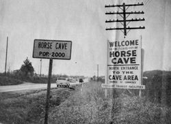 Welcome to Horse Cave