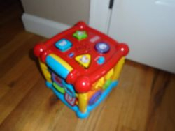 VTech Busy Learners Activity Cube - $12