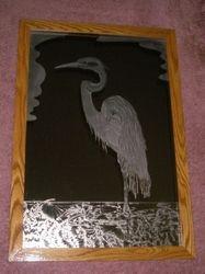 Wading Egret