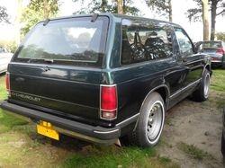 Chevrolet Blazer Tio 4.3 V6 '92