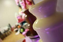 White and milk chocolate fountain hire Halifax