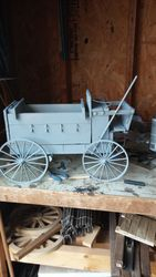 1/6 scale horse freight wagon W.I.P.