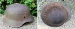 Vokiskas salmas. German helmet WW2. Kaina 87