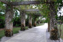 Naples Botanical Garden Arbor 2