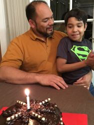 Celebrating Dad's Bday