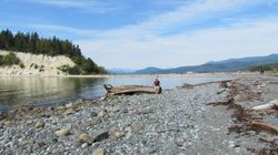 The beach at Buccaneer Bay, Thormanby Island