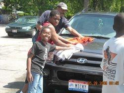 Youth Washing Cars