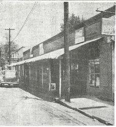 Pender Row 1950's
