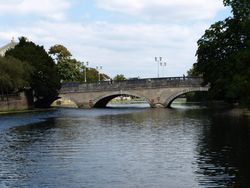 The bridge in Bedford
