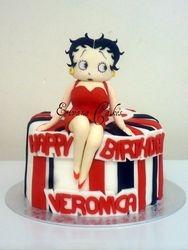 Betty Boop Cake(SP038)