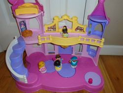 Fisher Price Little People Disney Princess Musical Dancing Palace - $30