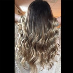 Toasted almond ombre