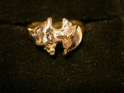 Double Conch Shell Ring