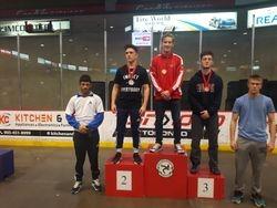 Devan Larkin - 1st place at Juvenile Provincials 2017