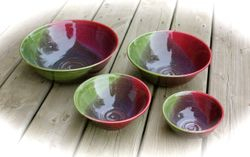Pastel Nesting Bowls ~ (Photo 2)