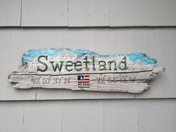 Ski House Family Name Sign