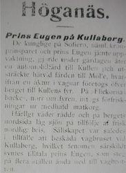 Prins Eugen 6 oktober 1908