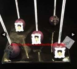 Prince Themed Cake Pops