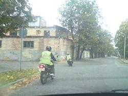 A kategorijas apmaciba ar motociklu