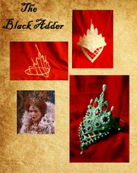"Queen Elizabeth's crown, replica from the BBC TV series ""Black Adder"""