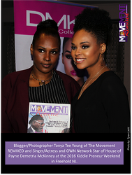 Tonya and Demetria McKinney attend KiddiePreneur Recognition Event - iPlay America