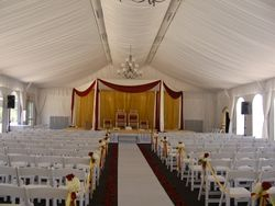 Tent, Aisle
