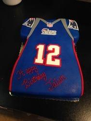 Tom Brady Jersey cake