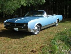 3. 66 Oldsmobile Dynamic 88 Convertible