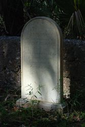 Graveyard on Cumberland Island