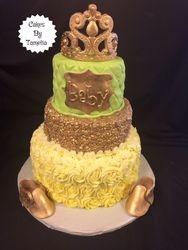 Princess Baby Shower Cake