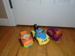 Battat B. Wheeee-ls! Soft Cars- 3 - $10