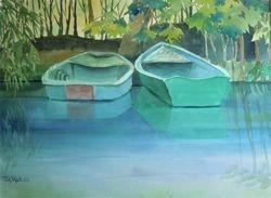 Giverny Rowboats