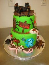 25 serving fondant bug cake $350