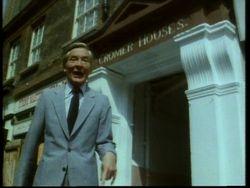 Kenneth outside Cromer House 1983