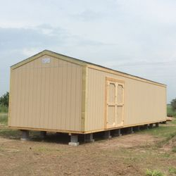 12'x40'x10' A-frame with double doors