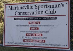 Club Contact Info Sign