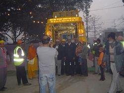 2008 - Golden Palki of Shri Guru Ravidass Ji's Janam Sthan Mandir Seer Govardhanpur Varanasi