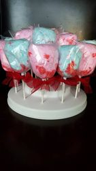 Pop Rock Cotton candy pops