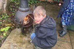 Thomas cooking