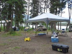 Camping Midsummer Solstice 2013