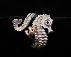 Steven Douglas Seahorse Wrap Ring